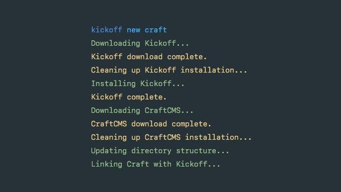 Club Craft CMS Installer Preview