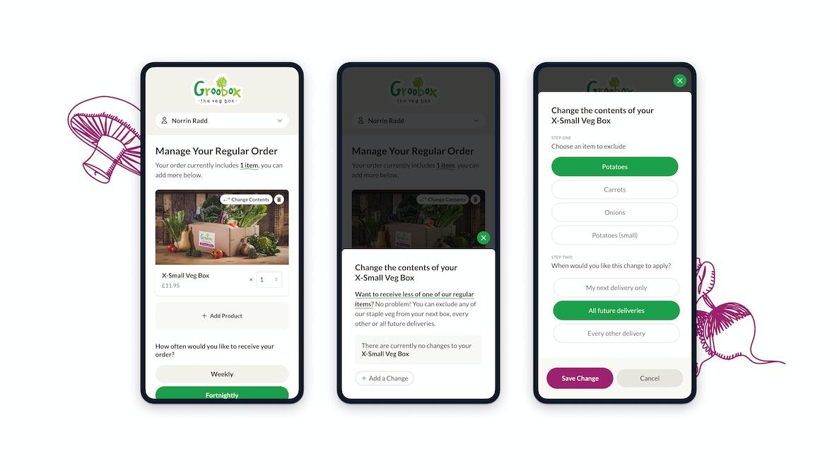 Groobarbs customer area order mobile