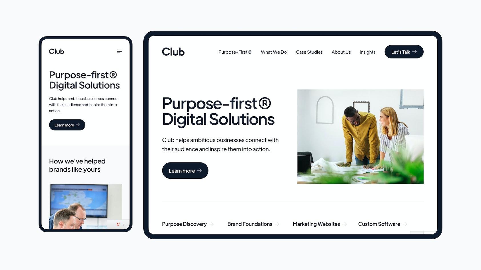 New Club Studio Website 2021